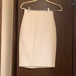 Banana Republic White Pencil Skirt